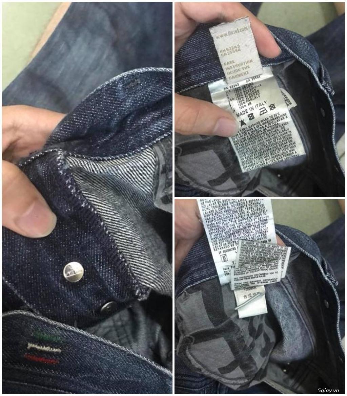 Quần jean si đa ( 2hand ) của các hãng Ông địa , D&G , A/X...  nhập từ USA , Italy ... - 26