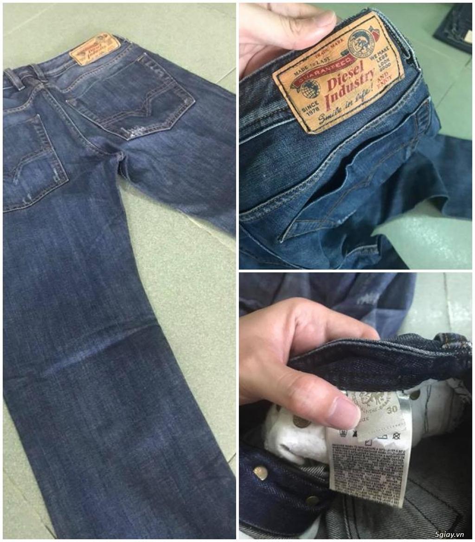 Quần jean si đa ( 2hand ) của các hãng Ông địa , D&G , A/X...  nhập từ USA , Italy ... - 23