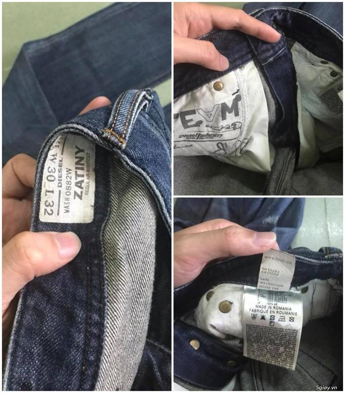 Quần jean si đa ( 2hand ) của các hãng Ông địa , D&G , A/X...  nhập từ USA , Italy ... - 22