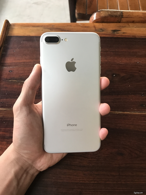 Iphone 7plus 32g quốc tế ll/a màu silver bạc zin all - TP.Hồ Chí Minh -  Five.vn