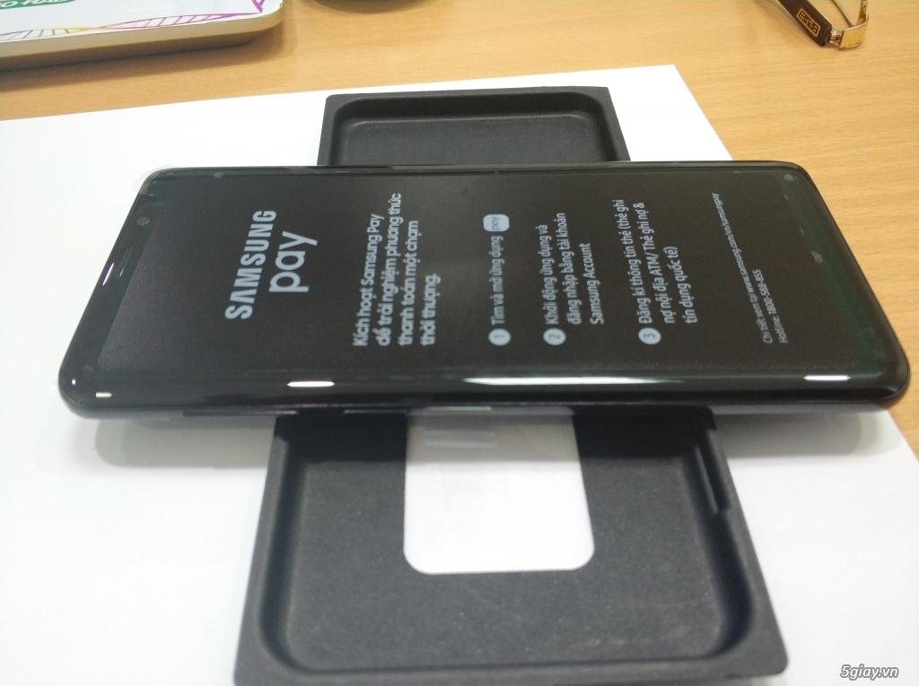 Điện thoại chính hãng Samsung Galaxy S9+ (BLACK)  mới 99,9%