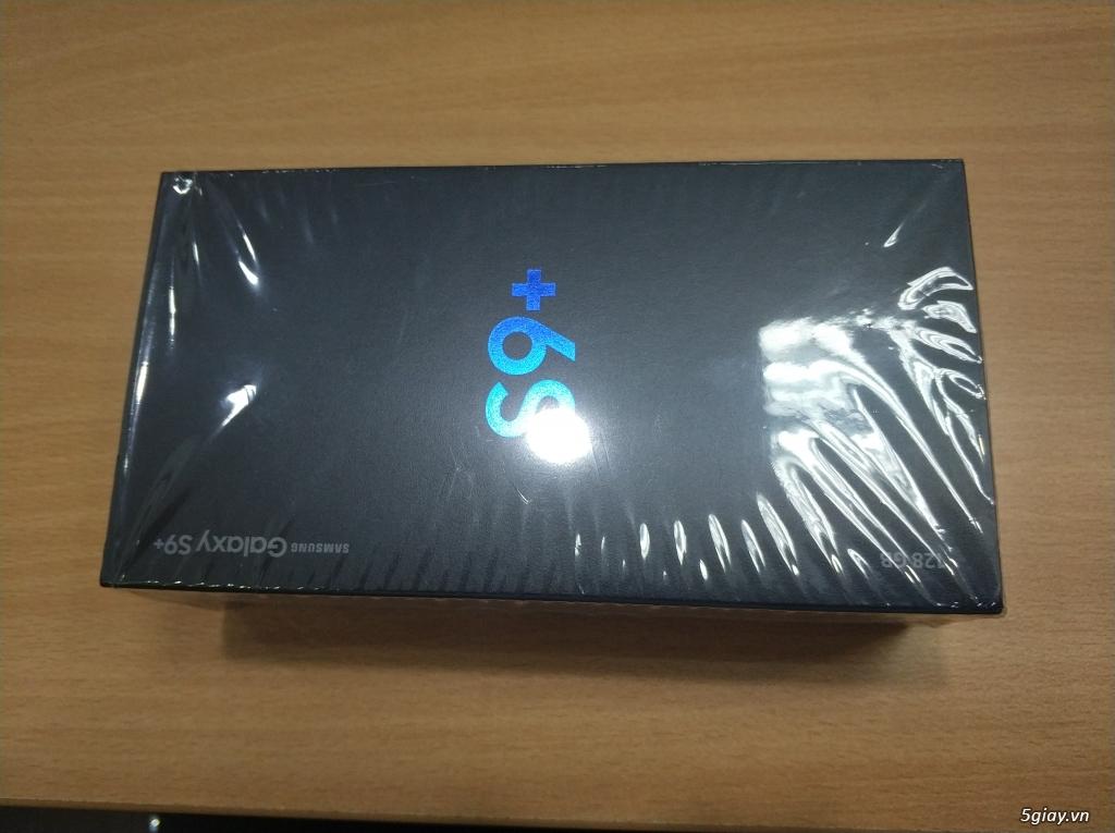 Điện thoại chính hãng Samsung Galaxy S9+ (BLACK)  mới 99,9% - 5