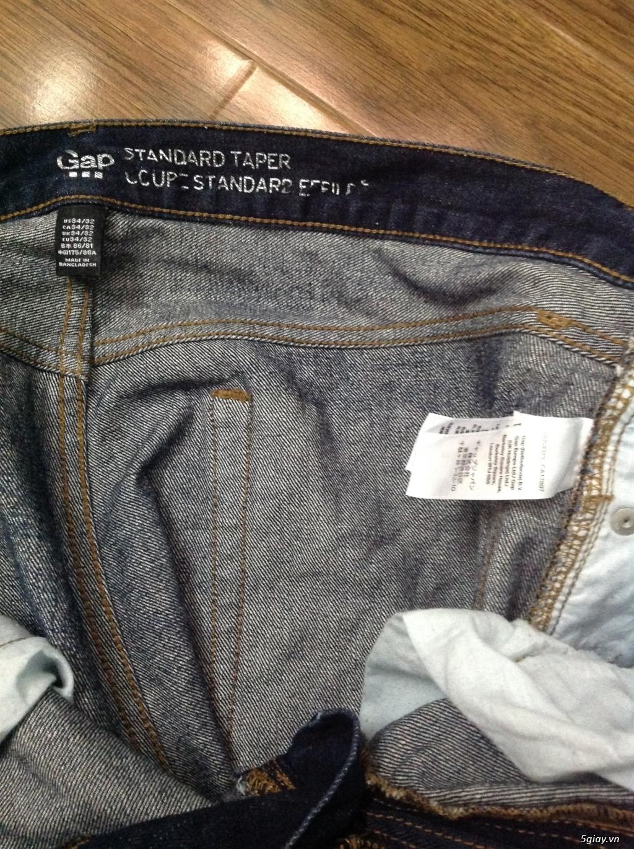 Jeans 2nd hàng hiệu: Just Cavalli, gap, levi's - 1