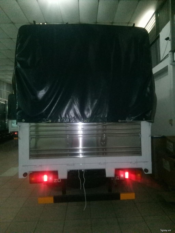 ISUZU 1.99 tấn thùng bạt, giao xe ngay - 4