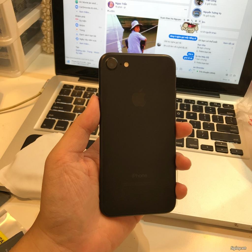 iPhone 7 32GB đen nhám, hàng MỸ, đẹp gần như mới