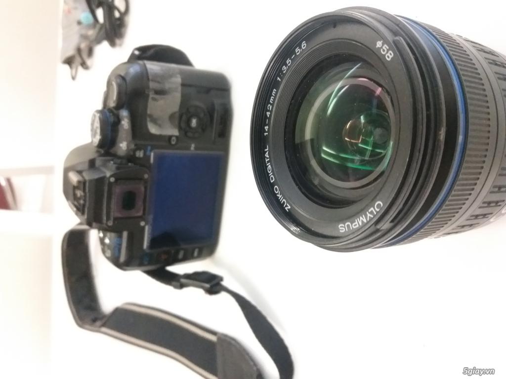 Olympus E420 & Canon IXUS 75 & Balo Lowepro - 3