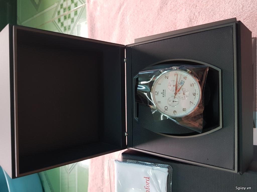 Đồng hồ EDOX,CHAMEX chính hãng thụy sĩ. - 2