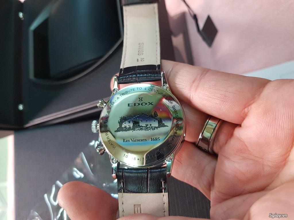 Đồng hồ EDOX,CHAMEX chính hãng thụy sĩ. - 3