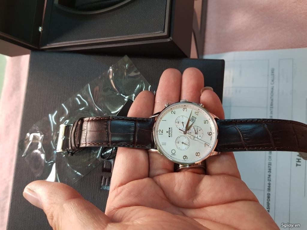 Đồng hồ EDOX,CHAMEX chính hãng thụy sĩ. - 4