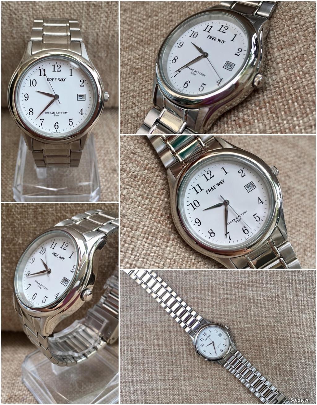 Kho đồng hồ  chính hãng secondhand update liên tục - 22