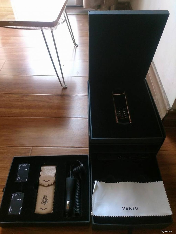 VERTU SIGNATURE S CLOUD DE PARIS GOLD PLATIUM, HÀNG MỚI 99%,FULLBOX - 3