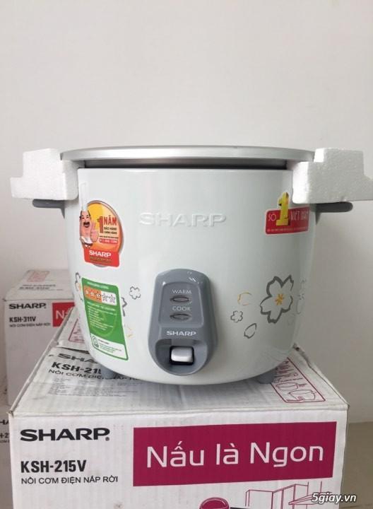 Nồi cơm điện Sharp bị hỏng hộp, new 100% thanh lí