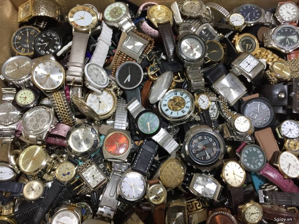 Hàng trăm lô đồng hồ Nhật tại Yahoo Japan cho bác nào kinh doanh nhé - 1