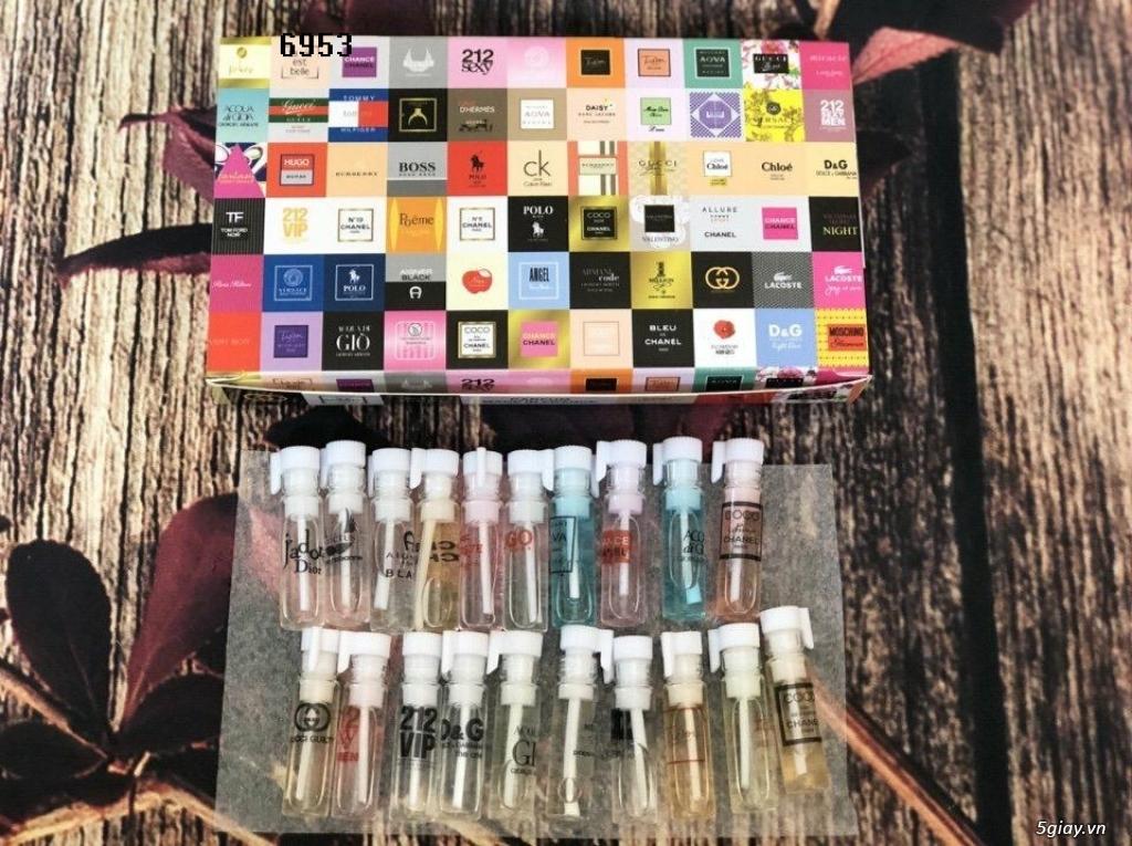 Nước hoa mini bộ test 20 mùi - 1