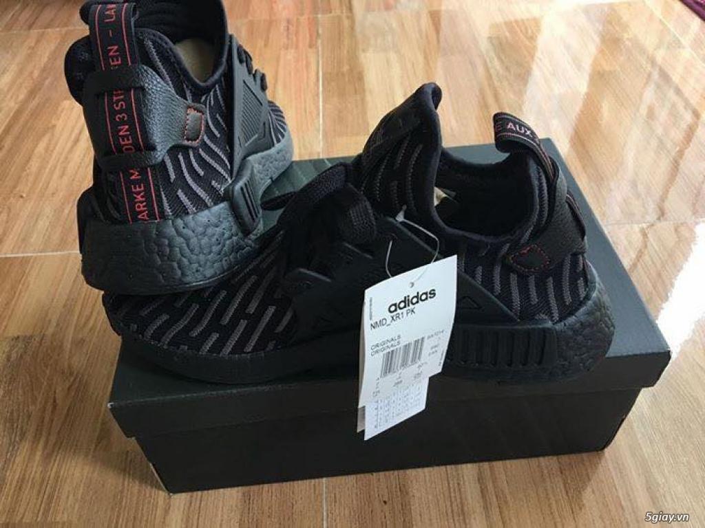 adidas NMD Xr1 Primeknit Tripple Black used ( ít sử dụng ) - 1