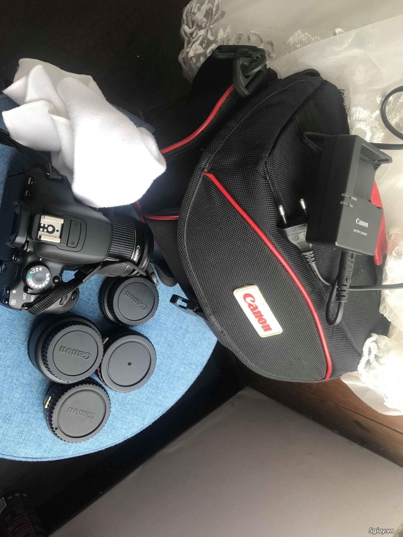 HCM Canon 650D len kit 18-55, fix 50 1.8 ít chụp - 3