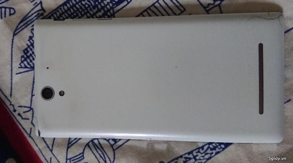 Sony Xperia C3 Dual màu trắng
