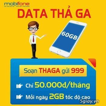 Sim 4G 720Gb/Năm ~ 60Gb/tháng chỉ 50k --->>>>