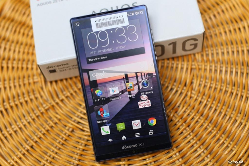 Sharp SH01G: LCD 5.5inch FullHD,chống nước,cấu hình cực tốt ,pin trâu - 7