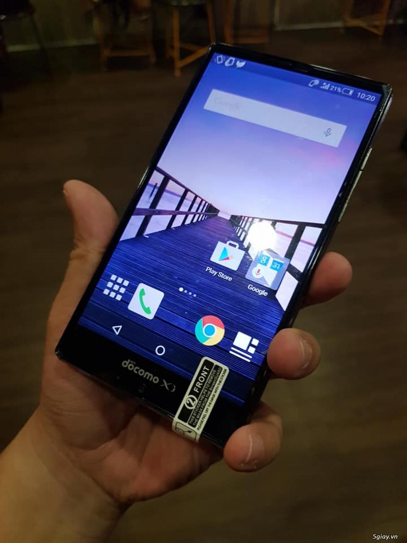 Sharp SH01G: LCD 5.5inch FullHD,chống nước,cấu hình cực tốt ,pin trâu - 2