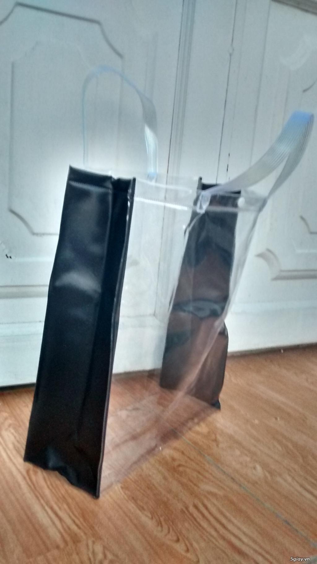 Thiết kế, in, gia công bao bì, túi nhựa trong PVC, túi simily - 1