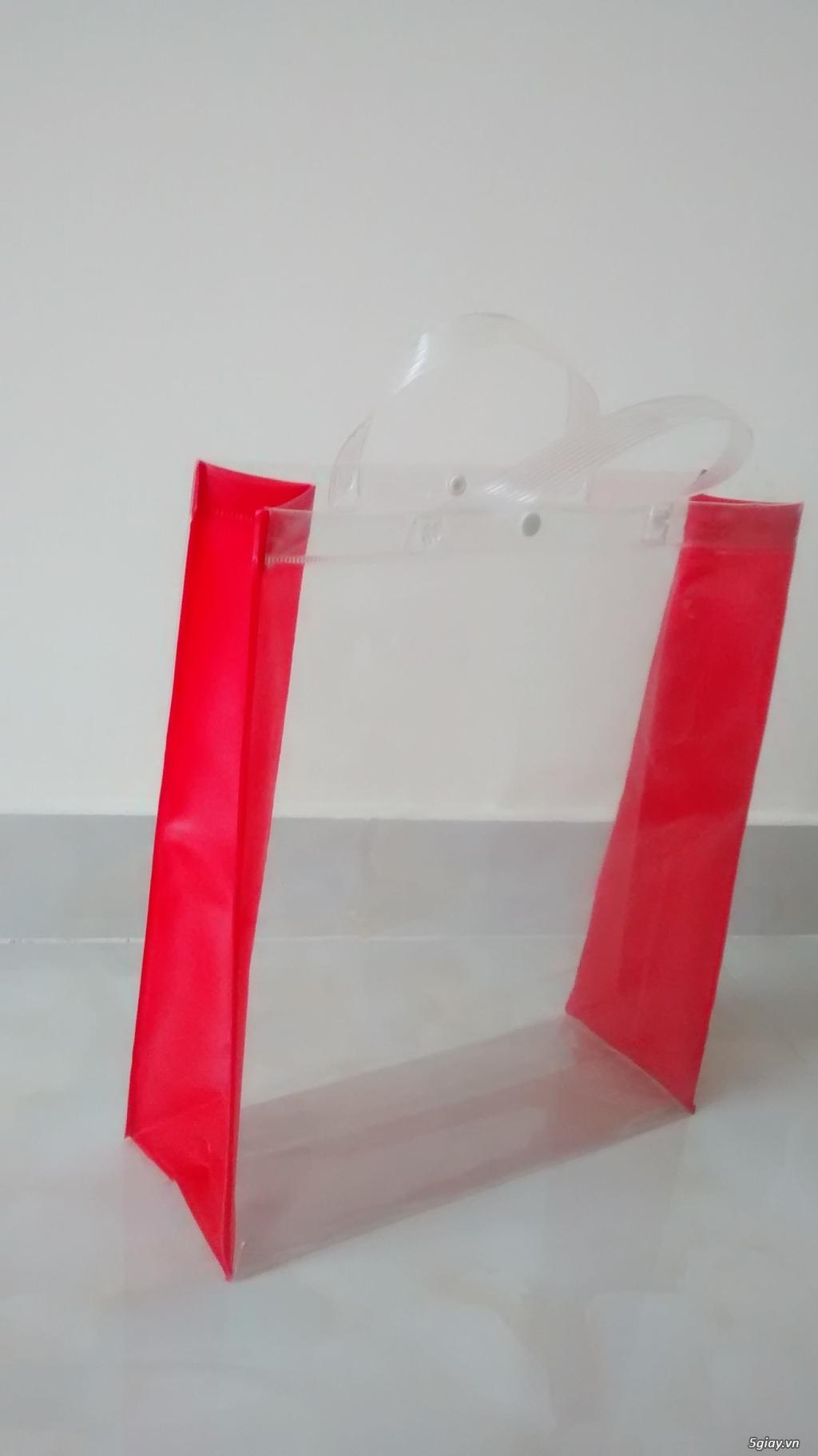 Thiết kế, in, gia công bao bì, túi nhựa trong PVC, túi simily