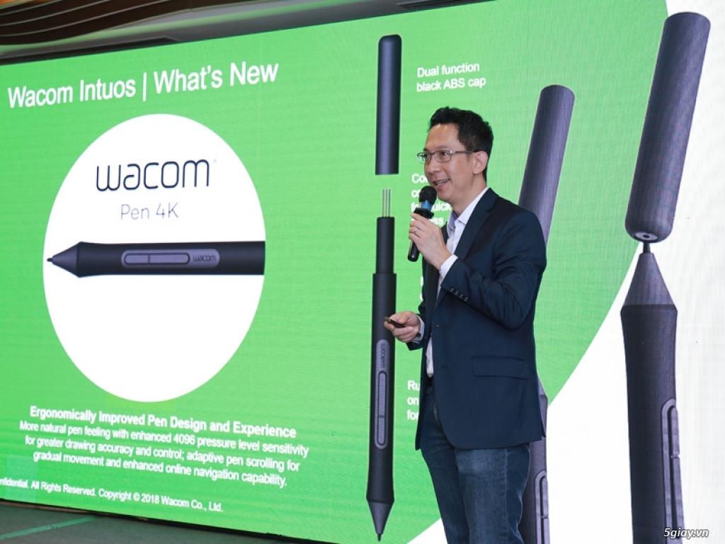Wacom giới thiệu Intuos 2018 tặng phần mềm bản quyền vẽ Corel 160USD