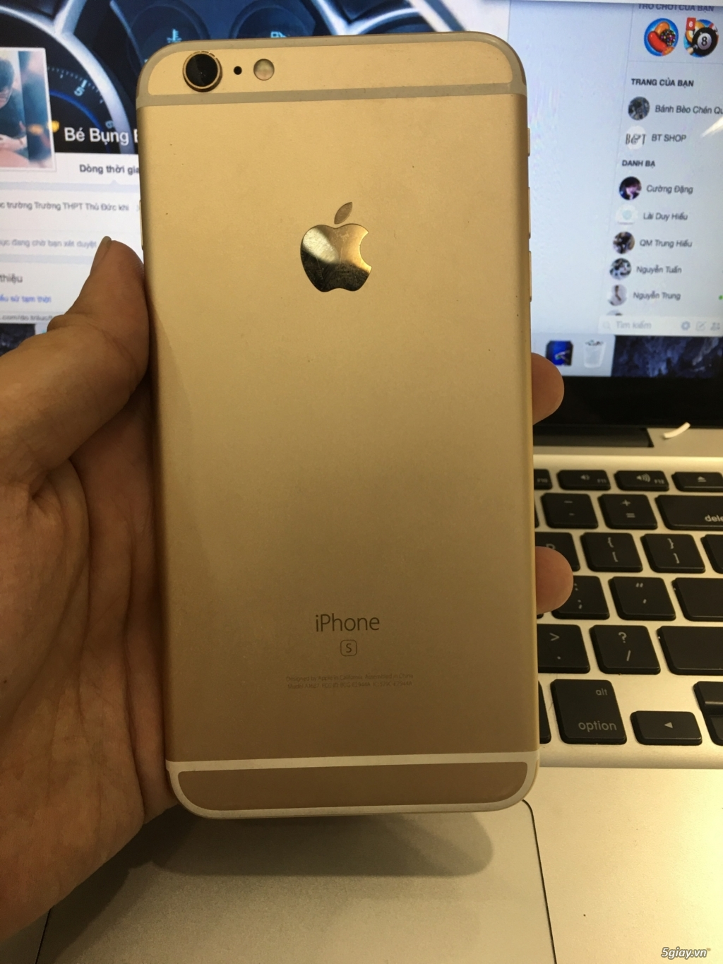 iPhone 6S Plus 64G Gold Máy Mỹ 99% !!!! - 4