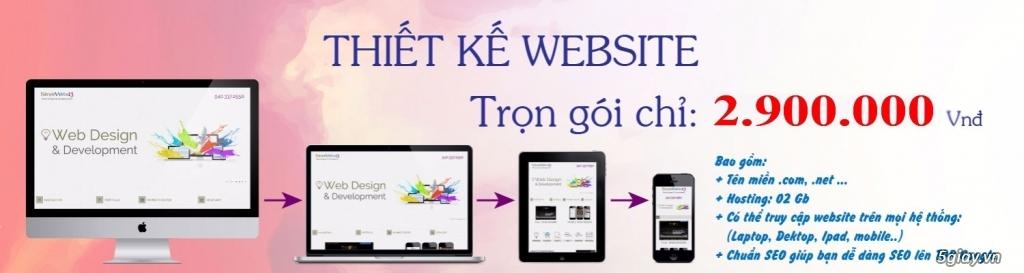 Thiết kế website giá rẻ tại Bình Dương