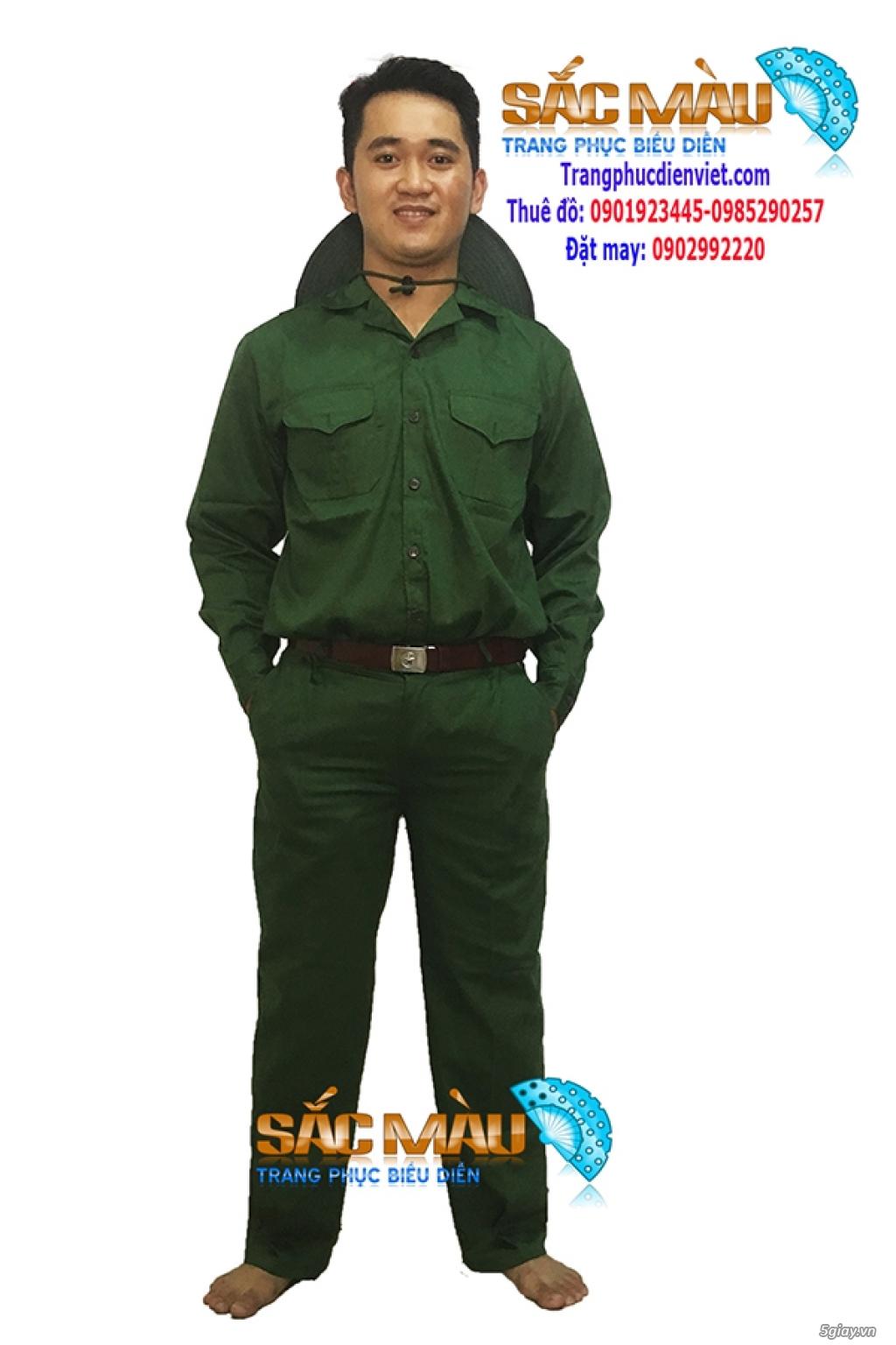 Cho thuê trang phục lính bộ đội, lính rằn ri giá rẻ quận 12, tphcm - 1