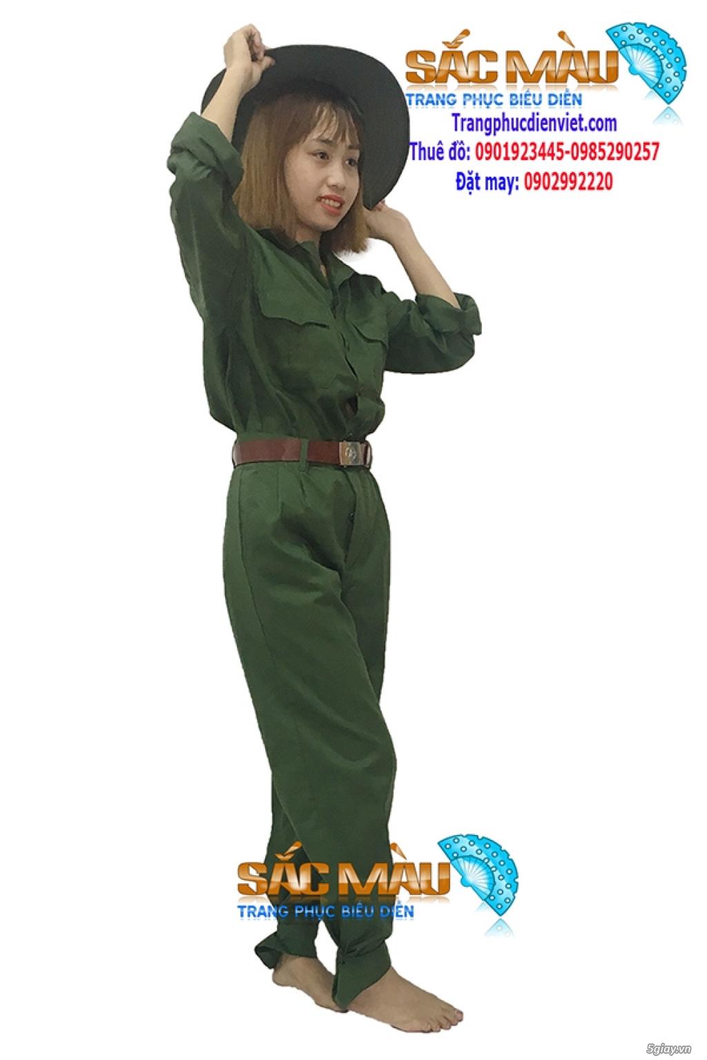 Cho thuê trang phục lính bộ đội, lính rằn ri giá rẻ quận 12, tphcm