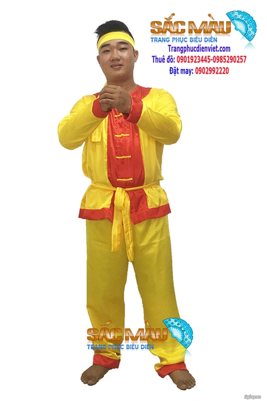 Cho thuê trang phục lính tây sơn giá rẻ quận 12, tphcm