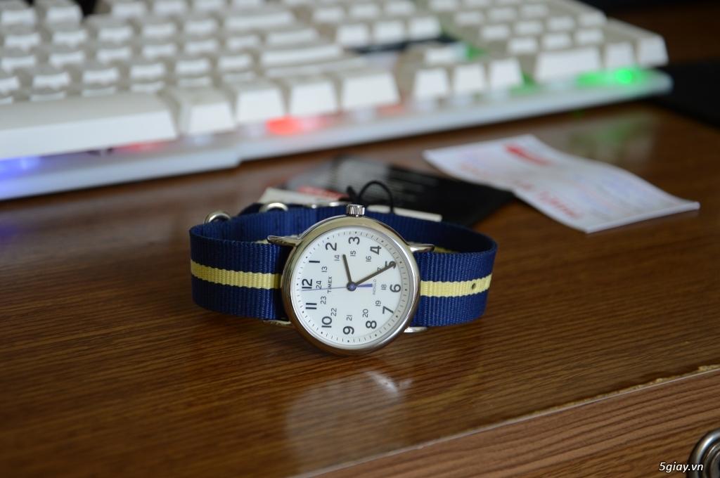 Đồng hồ Timex new 100% còn bảo hành - 3