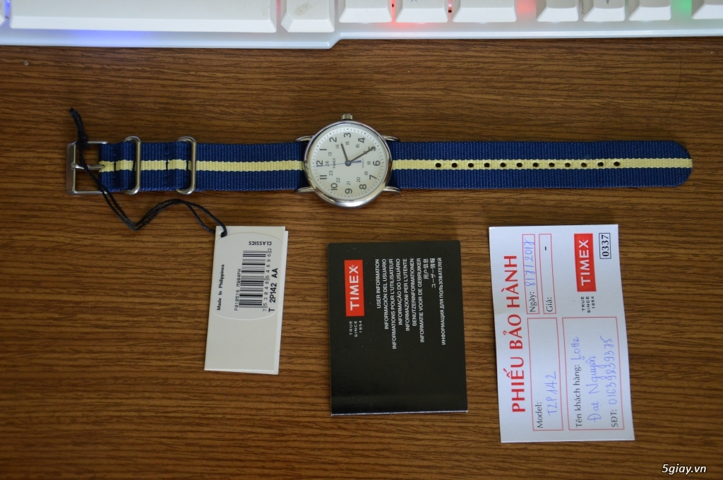 Đồng hồ Timex new 100% còn bảo hành - 2