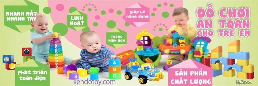 Khuyến mãi giảm giá đồ chơi trẻ em xuất khẩu lễ 30/4 và 1/5 - 2