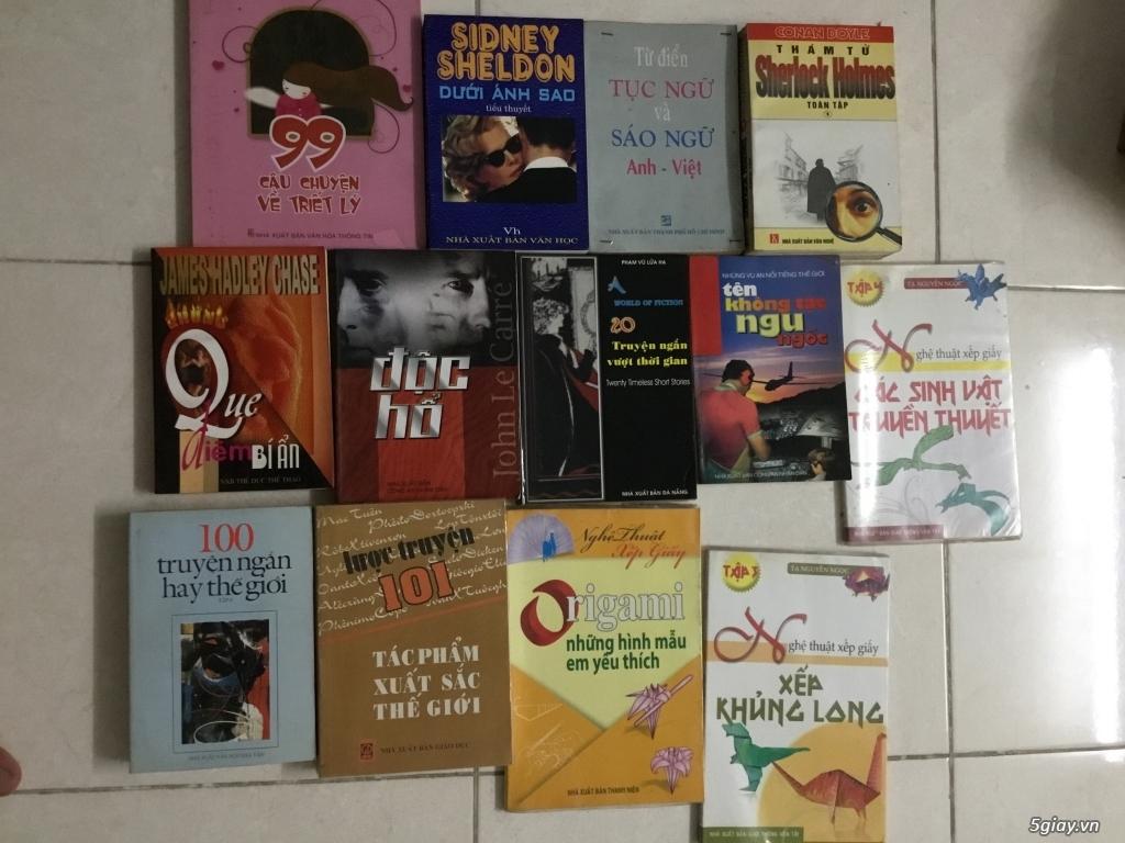 Sách truyện chữ + sách học tiếng Anh - 1