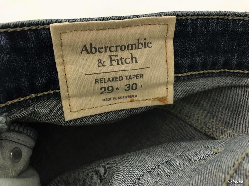 Cần thanh lý quẩn jeans abercrombie & fitch mua bên mỹ . - 25