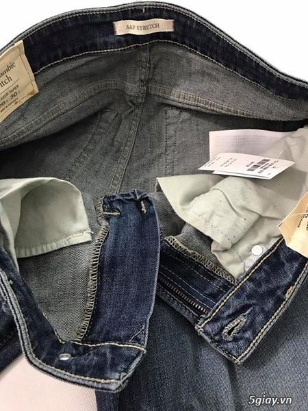 Cần thanh lý quẩn jeans abercrombie & fitch mua bên mỹ . - 20