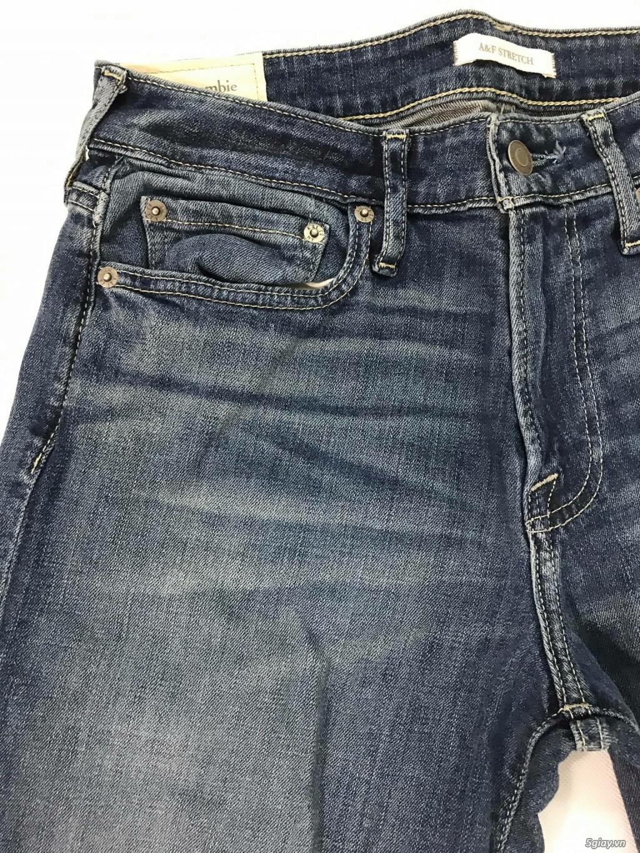 Cần thanh lý quẩn jeans abercrombie & fitch mua bên mỹ . - 19