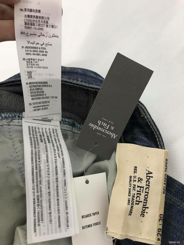 Cần thanh lý quẩn jeans abercrombie & fitch mua bên mỹ . - 26