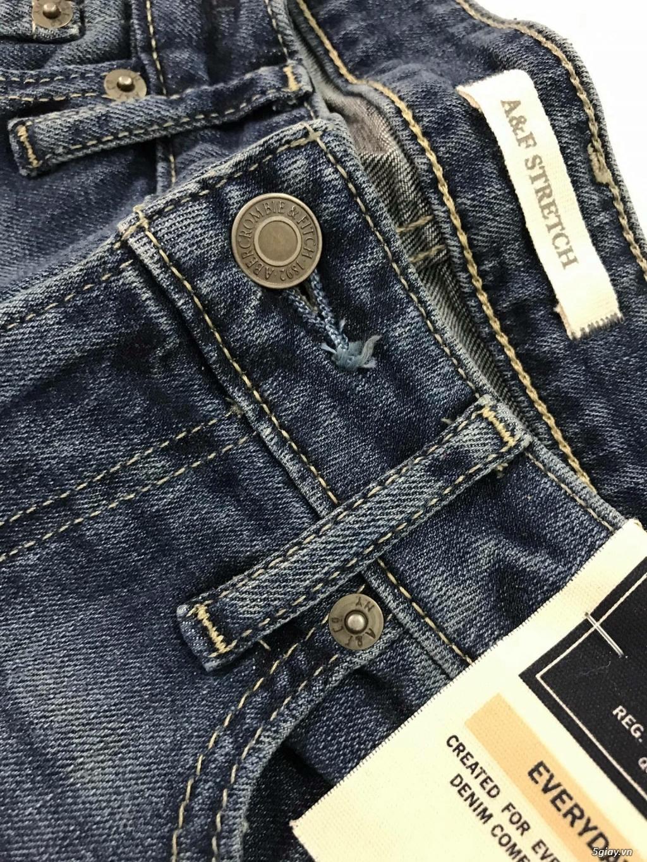 Cần thanh lý quẩn jeans abercrombie & fitch mua bên mỹ . - 15