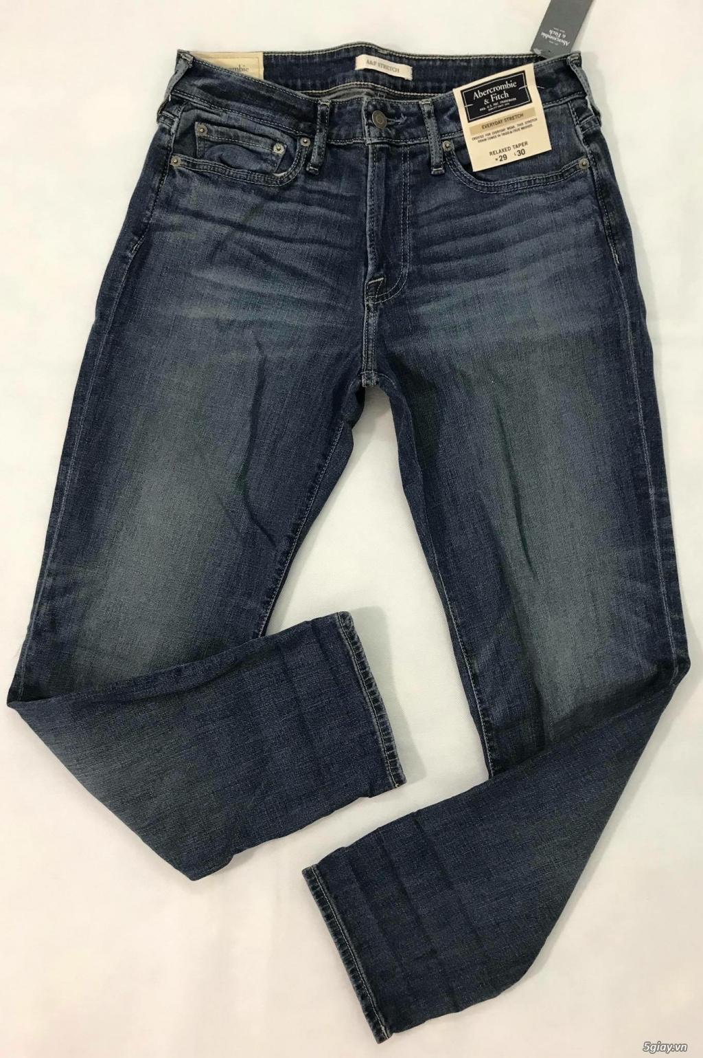 Cần thanh lý quẩn jeans abercrombie & fitch mua bên mỹ . - 9