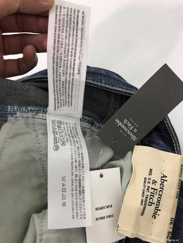 Cần thanh lý quẩn jeans abercrombie & fitch mua bên mỹ . - 27