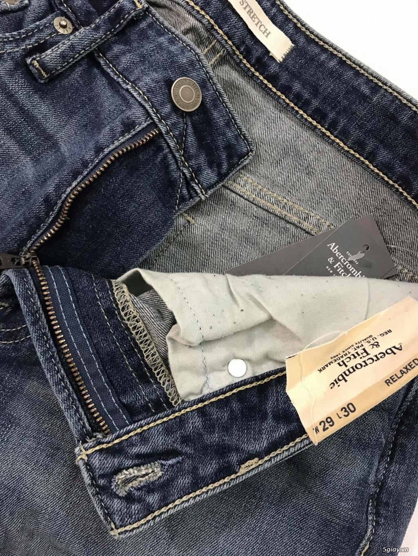 Cần thanh lý quẩn jeans abercrombie & fitch mua bên mỹ . - 18