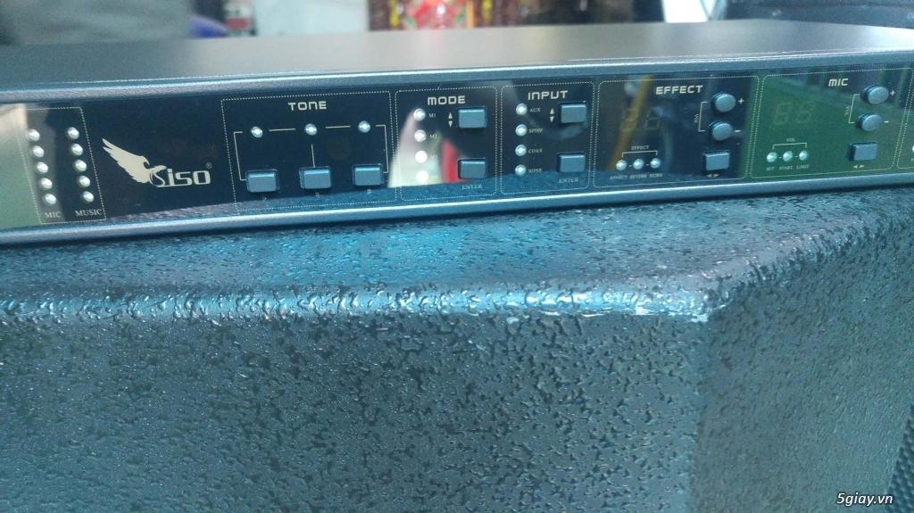 Vang số karaoke siso VS360 chống hú tốt mà không méo tiếng - 3
