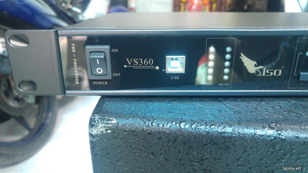 Vang số karaoke siso VS360 chống hú tốt mà không méo tiếng - 2