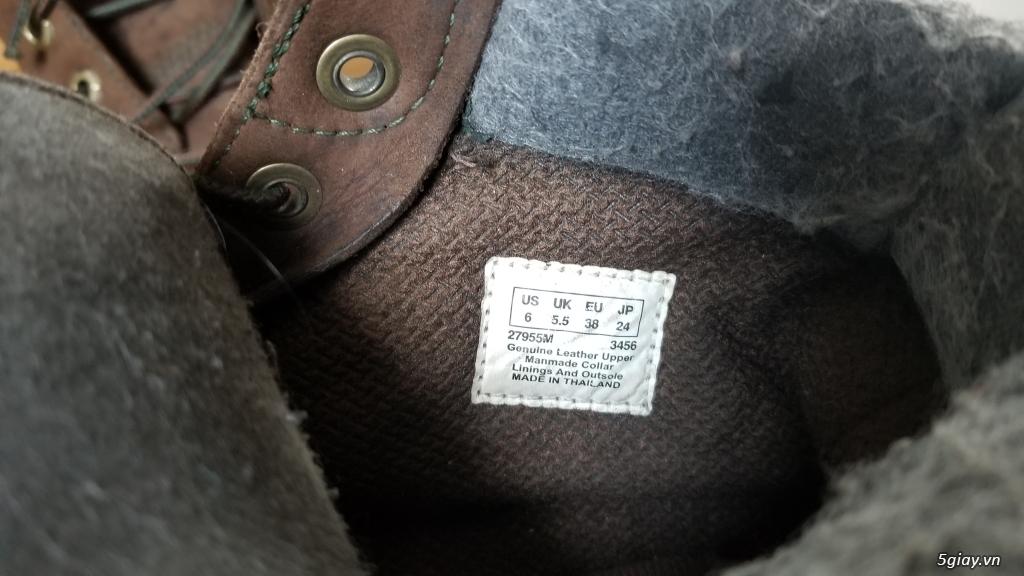 Giày boot Timberland bằng da xịn (hình thật) - 1