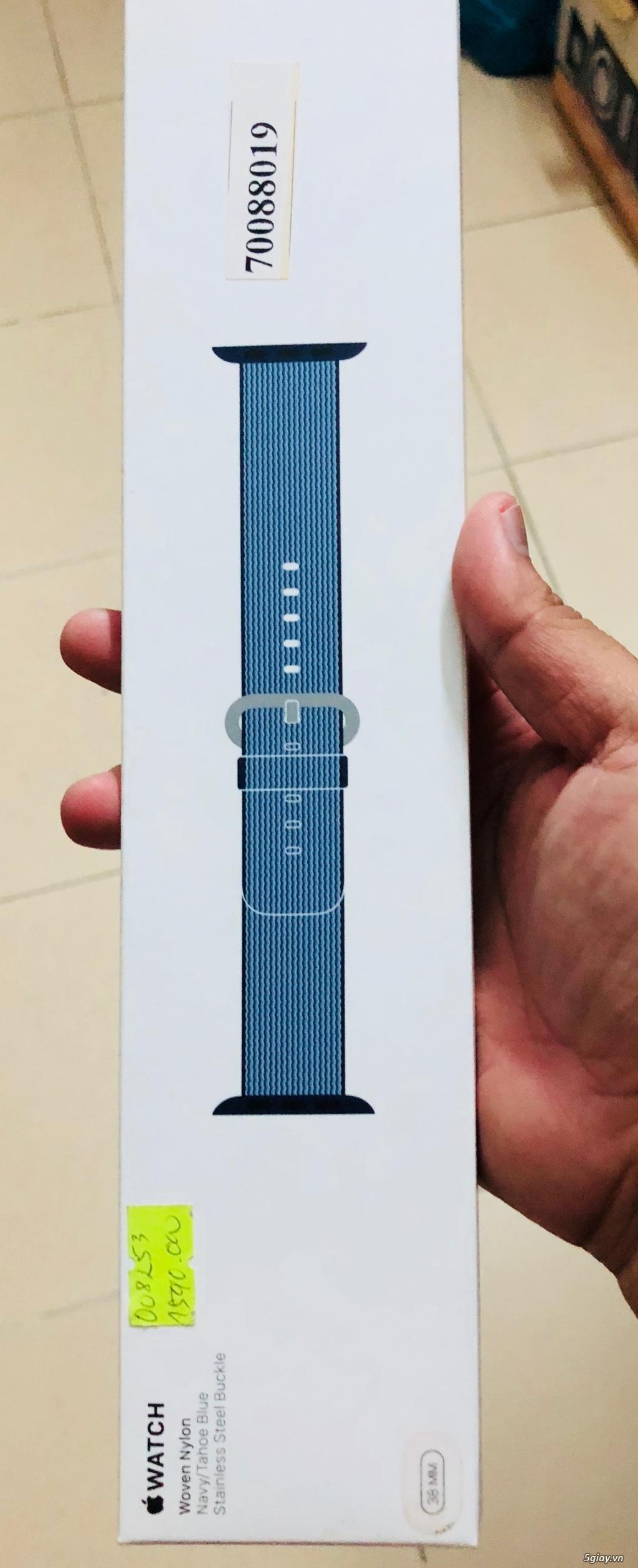 Cần thanh lý dây nylong cho Apple Watch 38mm, fullbox