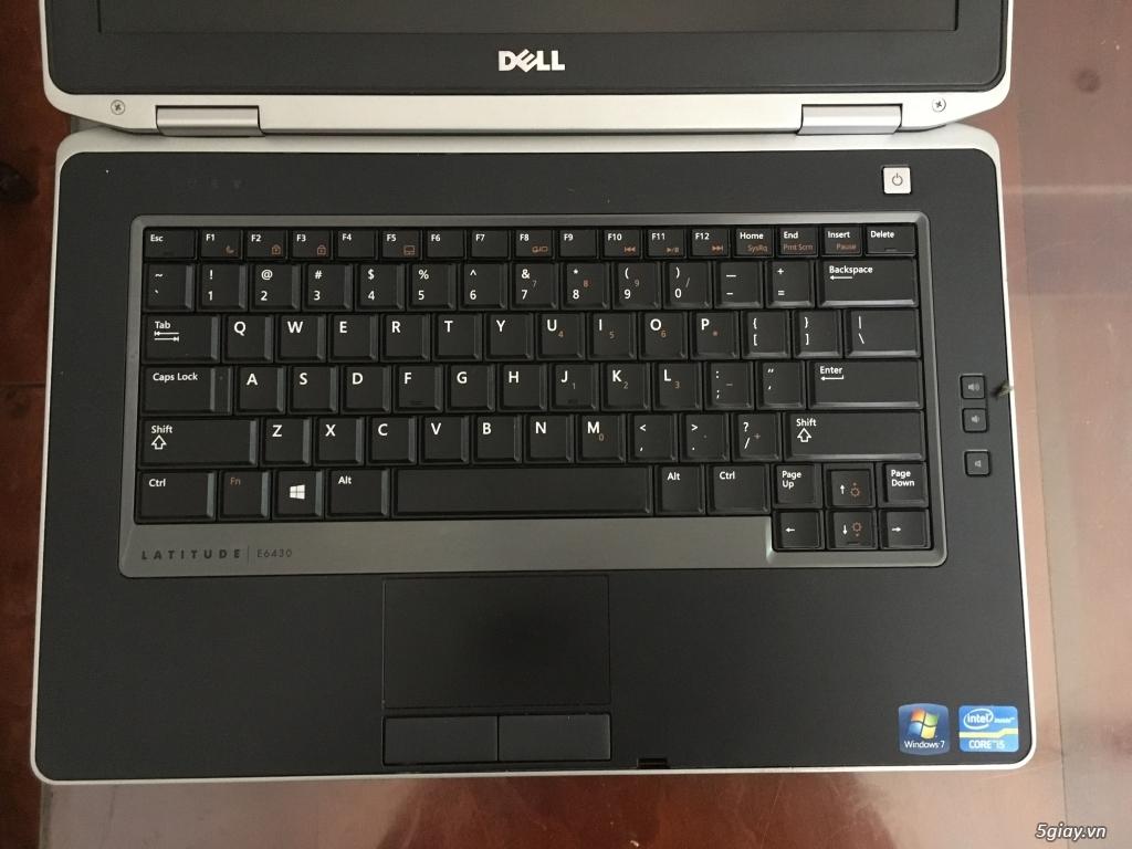 Bán Laptop Dell E6430 i5-3340 thế hệ 3 Ram 4G HDD 320G. Giá 4.800.000 - 11