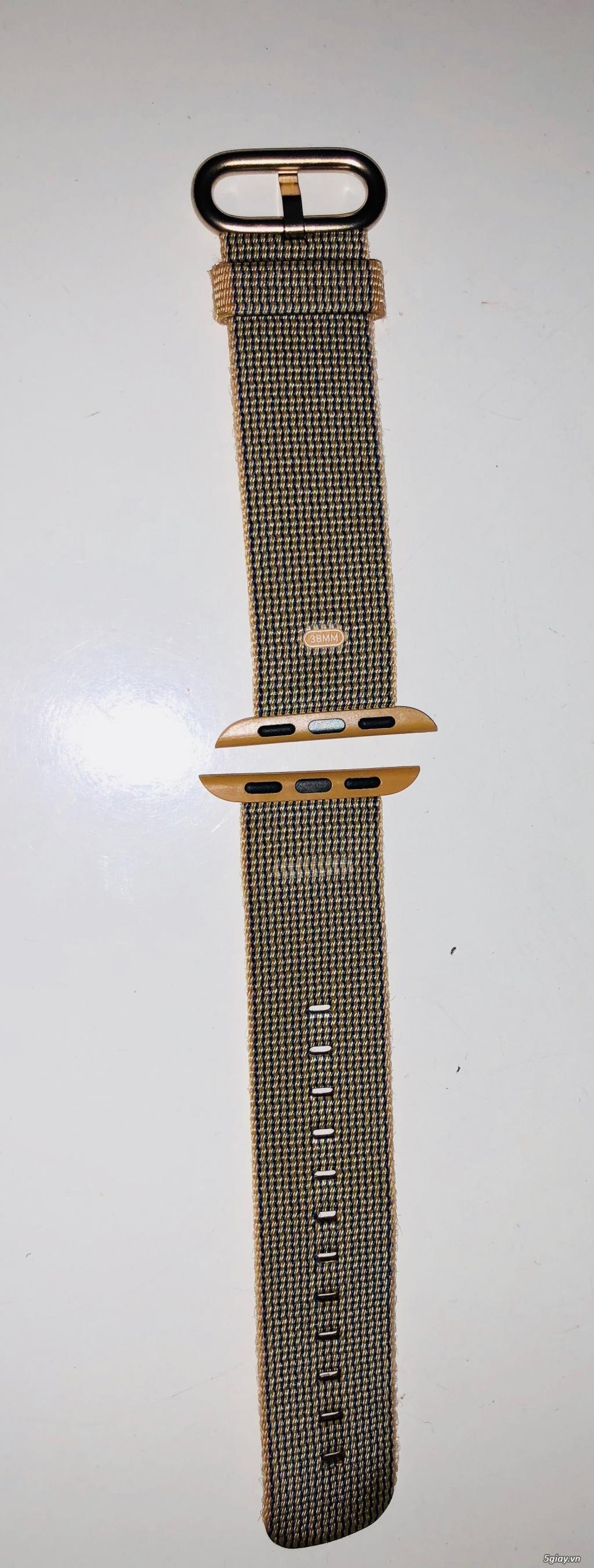 Cần thanh lý dây nylong cho Apple Watch 38mm, fullbox - 4